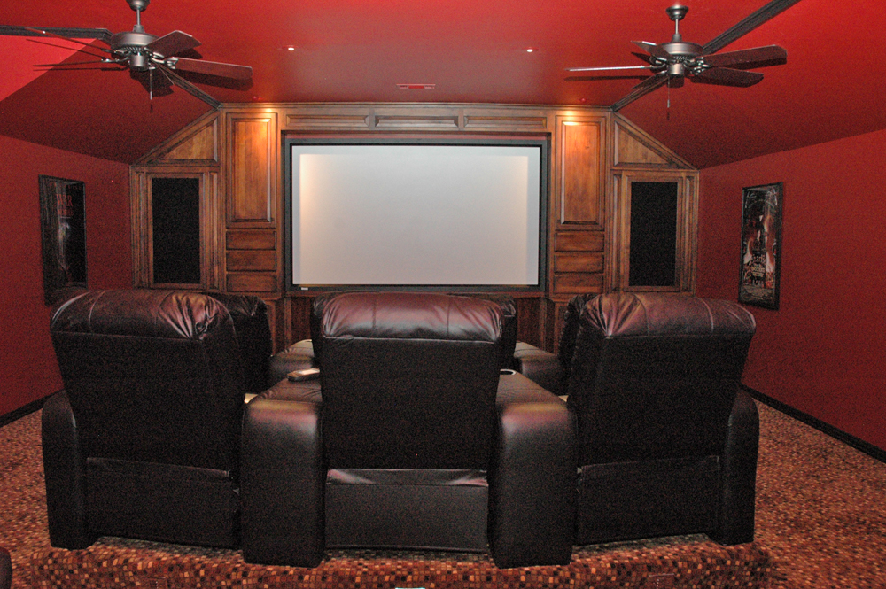 dm home entertainment i custom home theater design installation. Black Bedroom Furniture Sets. Home Design Ideas